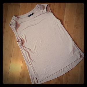 Banana Republic Light pink sleeveless top